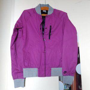 Nike Purple Windbreaker Jacket